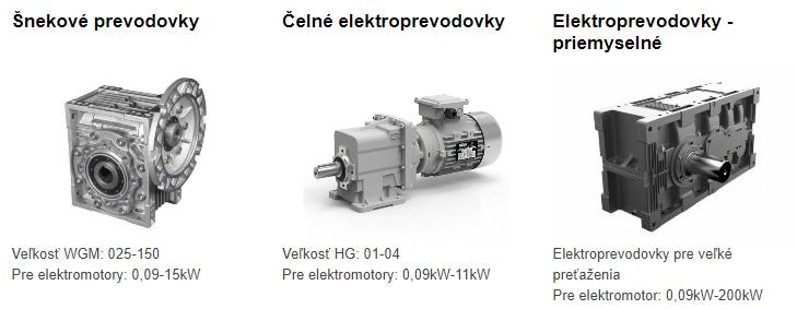 elektroprevodovka cena