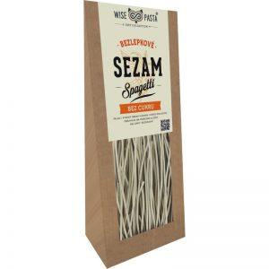 bezlepkové sezamové špagety