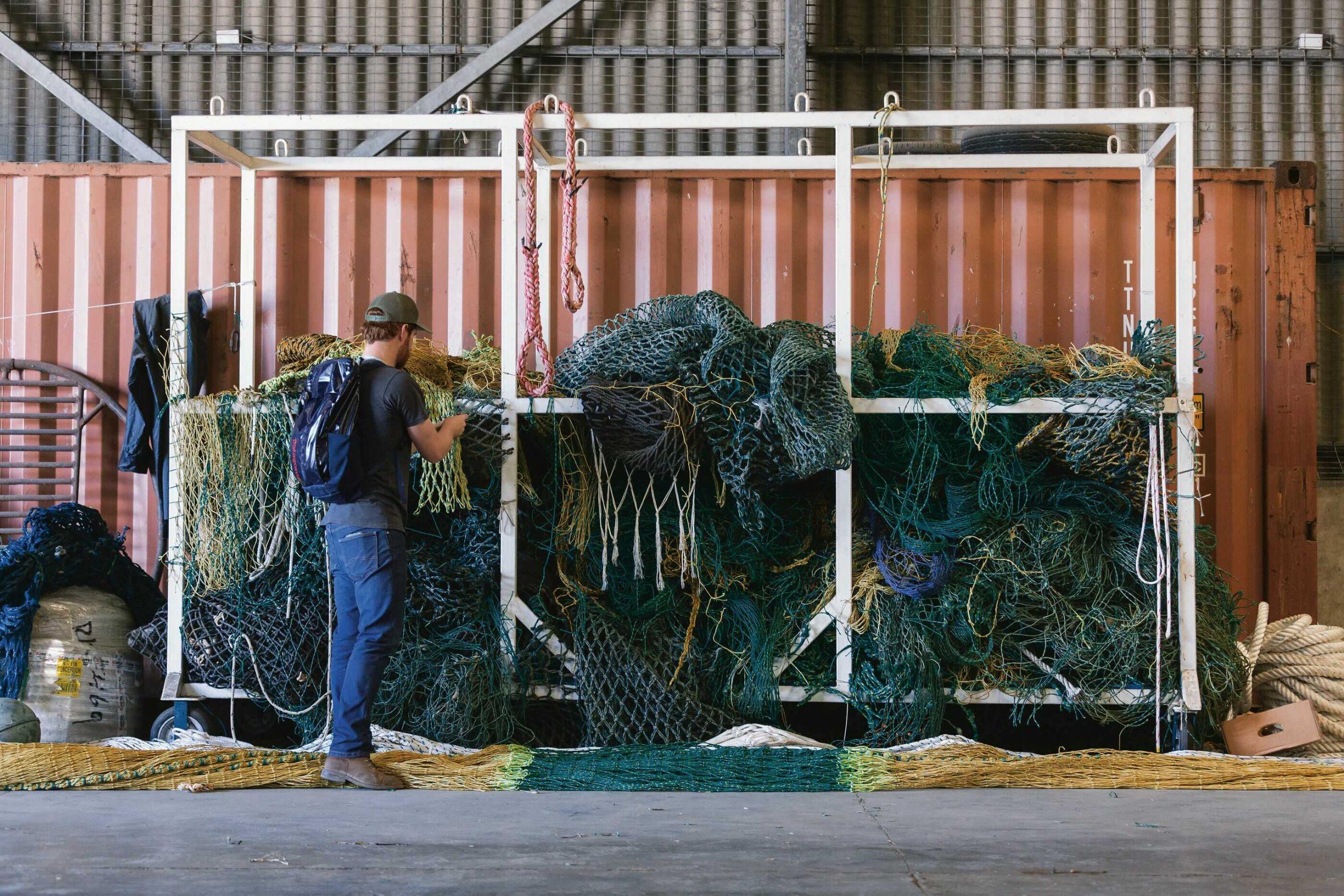ksiltovka patagonia recyklácia rybárskych sietí